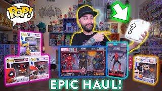 Massive Marvel & Disney Exclusive Funko Pop Toy Haul!
