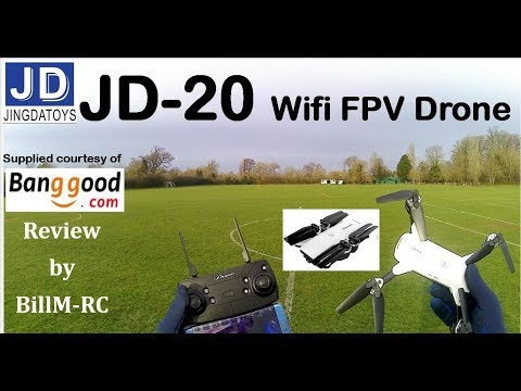 JDRC JD-20 WIFI FPV Quadcopter drone review