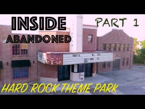 Inside Abandoned Hard Rock Theme Park Freestyle Music Part 1 Myrtle Beach