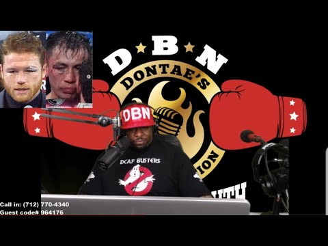 """DBN RADIO SHOW:  (JIM LAMPLEY) """"GENNADY GOLOVKIN'S ENTIRE CAREER IS A FAILURE....... MAYWEATHER-PACQ"""