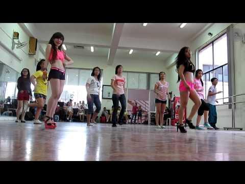 [Lớp học nhảy Hoa Lư] lớp tui học nhảy Loving you _sistar nè ^^ Rosa Alba