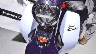 ホンダ スーパーカブ C125 新型 大阪モーターサイクルショー2018 honda New Super Cub C125 Exhibition model thumbnail