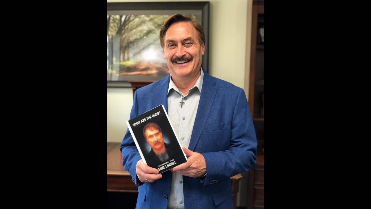 mike lindell reads from his new book