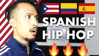 FIRST REACTION TO SPANISH HIP HOP (so good...)