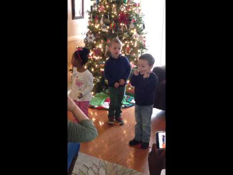 Apple Tree Preschool Christmas Show Pt. 3