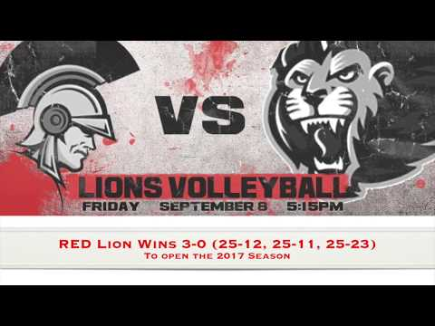 Red Lion Christian Academy Volleyball vs. Tome School 9/8/17