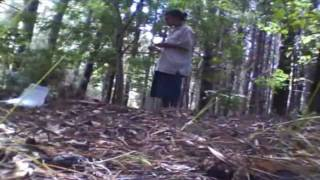 Wwoofing (Organic Farming) Vlog #36: July 18,2010 Medicine wheel for concsiousness convergence