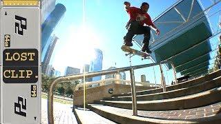 Manny Santiago Lost & Found Skateboarding Clip #170 Houston