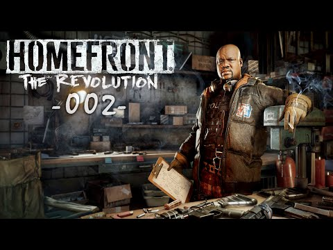 HOMEFRONT THE REVOLUTION #002 - Wir sind der Wiederstand [Deutsch] Lets Play Homefront