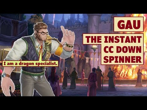 King's Raid - Gau The Spinner Of Instant CC Down Review