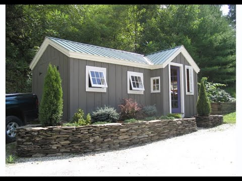 DIY Build or Buy Multi Purpose Storage Shed that Converts into Tiny Home