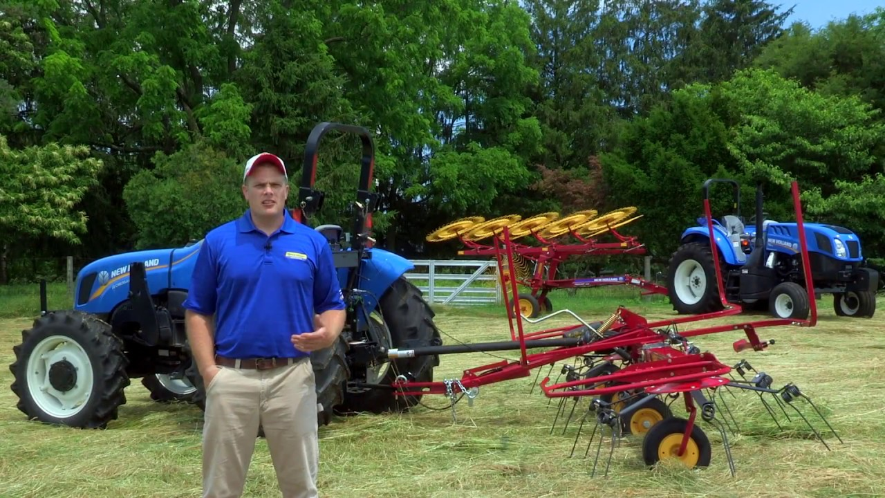 How Does a Rotary Tedder Work? New Holland's ProTed™