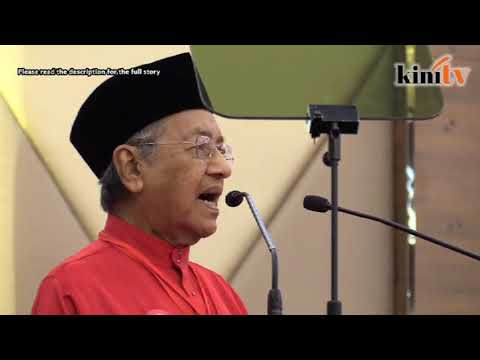 Dr M pledges separation of powers and other reforms
