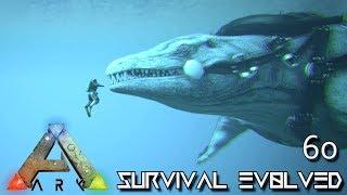 ARK: SURVIVAL EVOLVED - ALPHA MOSASAURUS & NEW UPDATE E60 !!! ( ARK EXTINCTION CORE MODDED )
