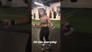 Latondria Jones is Back! Jump rope 20 minutes! Fight Date coming soon