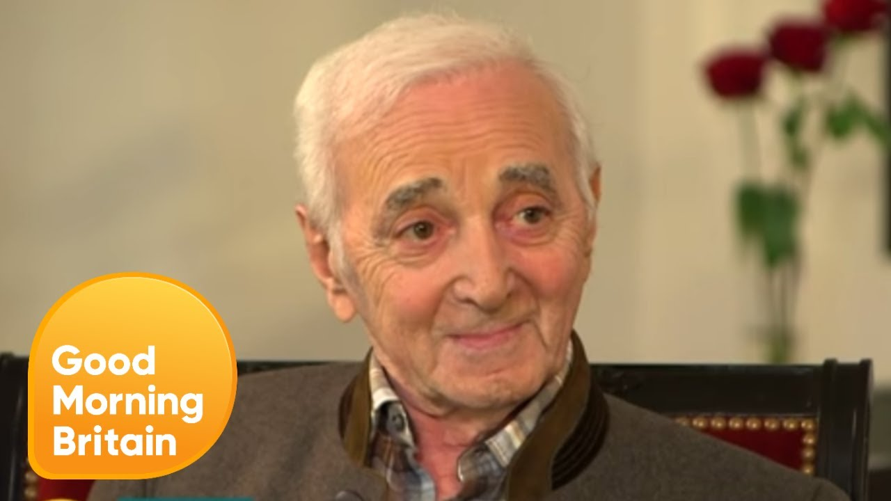 Piers Interviews Charles Aznavour | Good Morning Britain - YouTube