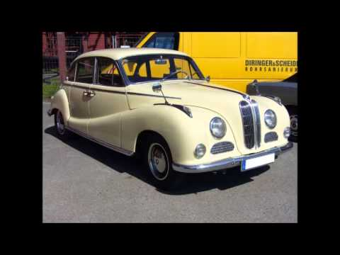 1954 BMW 502 Coupe - YouTube