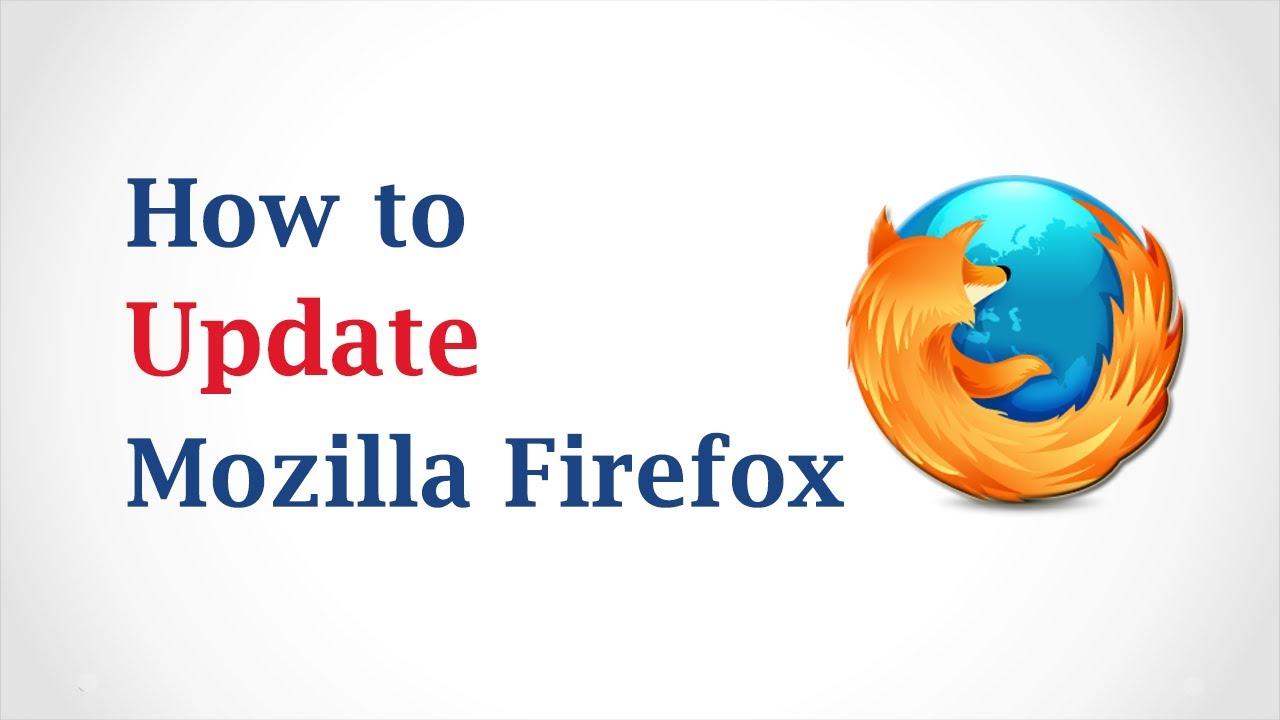 Mozilla Firefox Updaten