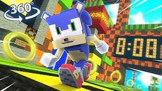 Sonic The Hedgehog In 360° - A Minecraft Vr Video