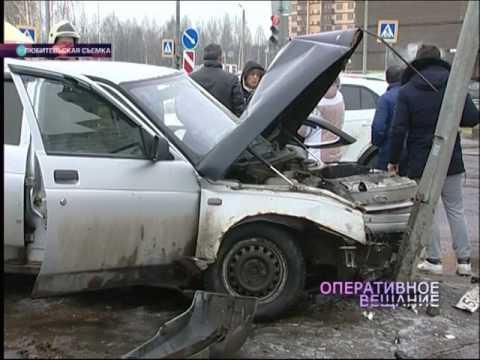Во Фрунзенском районе дорогу не поделили «Лада» и «Хендай»