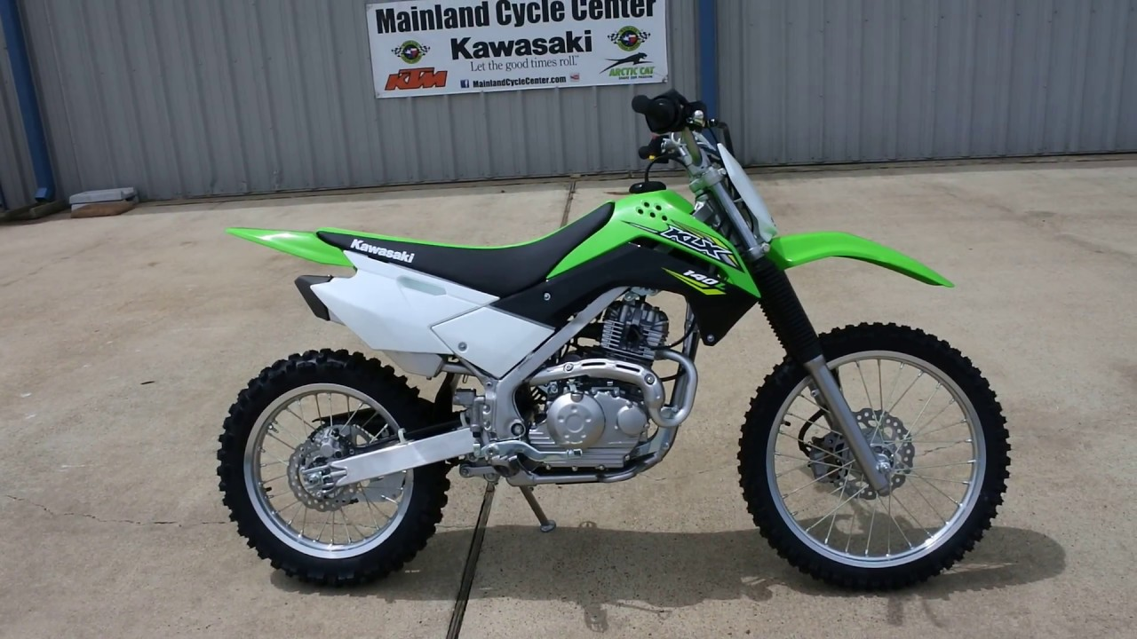3 399 Kawasaki Klx 140l Overview And Review