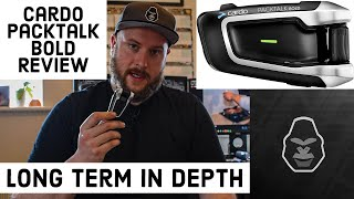 Cardo Packtalk Bold Review   Long Term and In Depth