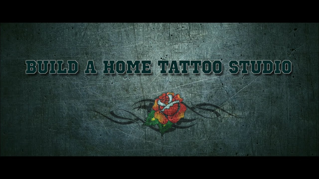 ira 39 s tattoo garage build a home tattoo studio youtube. Black Bedroom Furniture Sets. Home Design Ideas