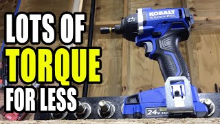 Kobalt 24V Impact Driver Review - Lower Speed, Higher Torque