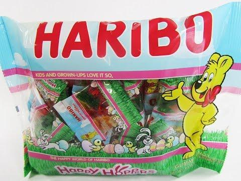 New Haribo Gummy Bunnies happy hoppers
