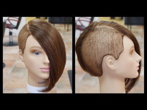 Extreme Women's Haircut – TheSalonGuy
