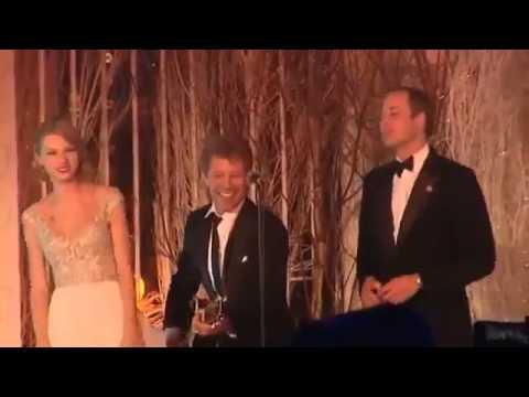 Prince William Sings Livin On A Prayer With Taylor Swift & Jon Bon Jovi
