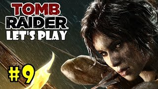 Tomb Raider Let's Play - Find Roth's Pack in the Mountain Village (Tomb Raider 2013 Gameplay) P9