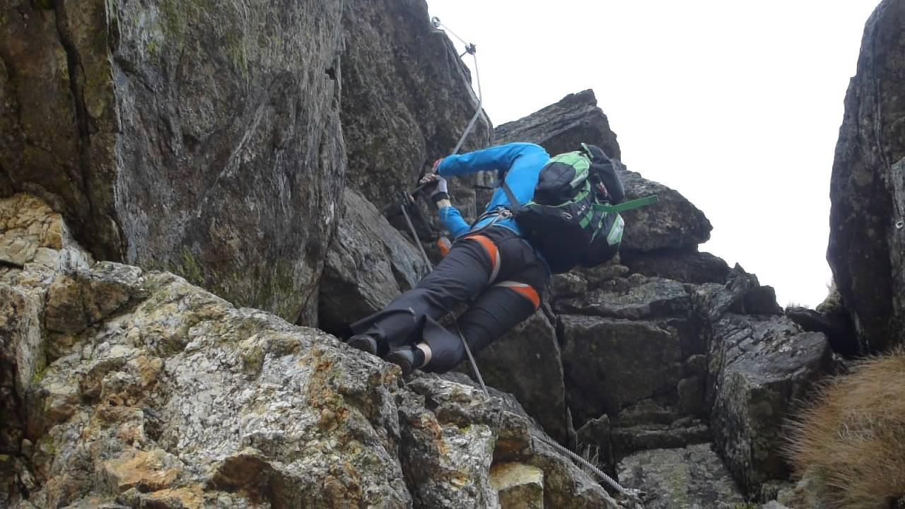 Klettersteig Decin : Klettersteig wie schwierig ist e youtube