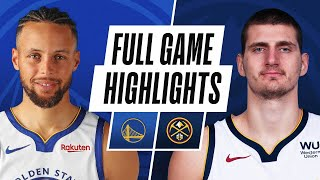 WARRIORS at NUGGETS | FULL GAME HIGHLIGHTS | January 14, 2021