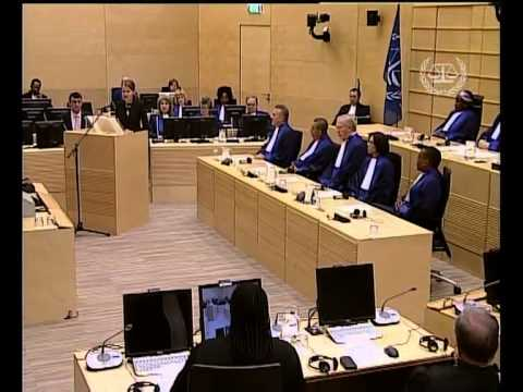 Swearing-in Ceremony for new ICC judges, 9 March 2012
