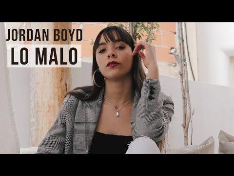 Silla Intrusión aprender  LO MALO - ANA Y AITANA (OT 2017) - COVER JORDAN BOYD - YouTube