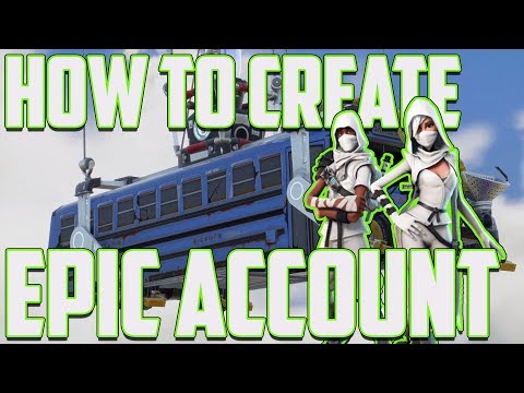 Fortnite Create Your Epic Account - (How To)