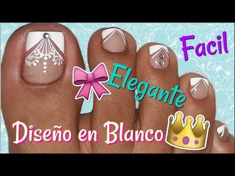 Decoracion De Unas Pies Nail Decoration Feet Youtube