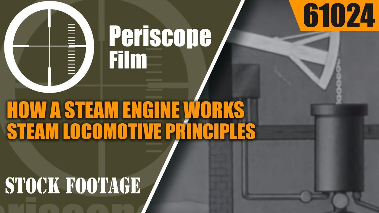 steam engine works steam locomotive principles  youtube