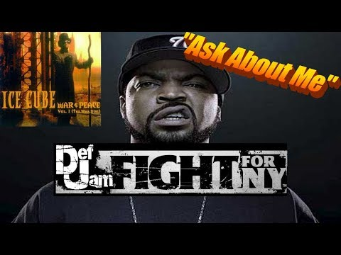 Def Jam Fight For New York | ASK ABOUT ME GAME SYNC (Ice Cube)