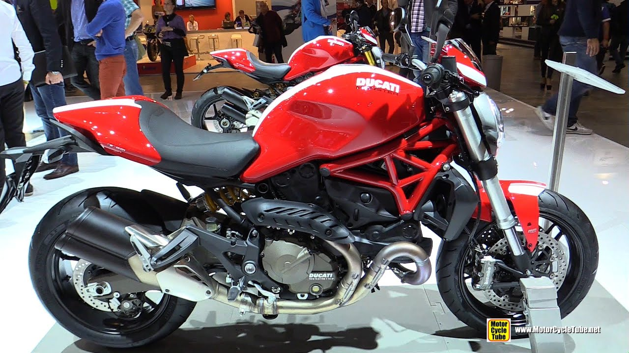 2015 ducati monster 821 stripe walkaround 2014 eicma milan motorcycle exhibition youtube. Black Bedroom Furniture Sets. Home Design Ideas