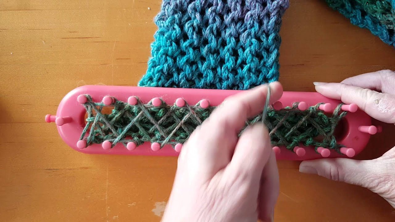 How to knit fish hooks