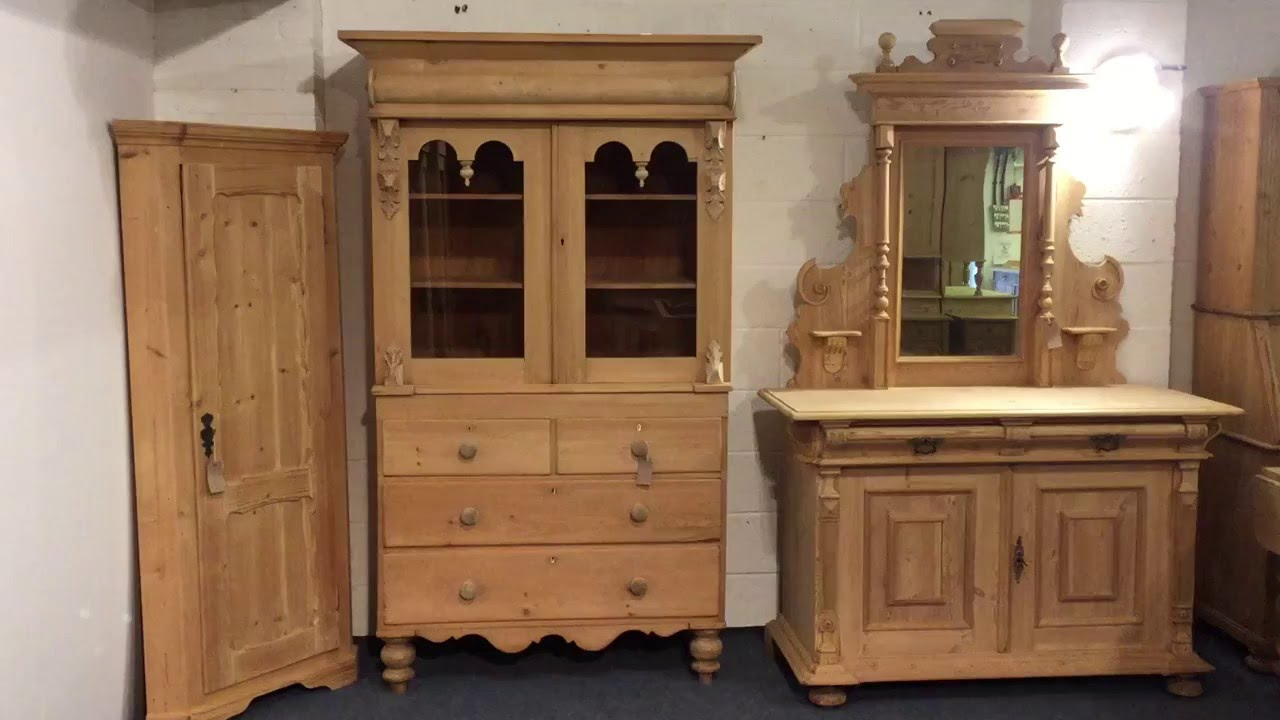 High Quality Large Scottish Pine Dresser For Sale   Pinefinders Old Pine Furniture  Warehouse