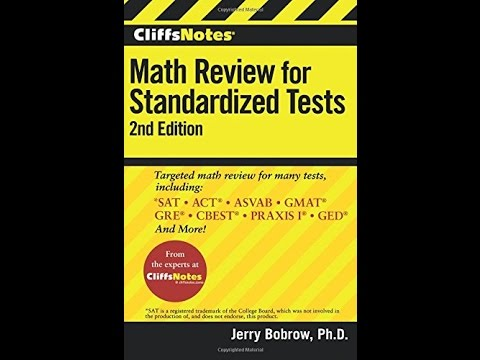 Math Review For Standardized Tests Pdf