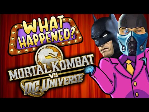 Mortal Kombat Vs DC Universe - What Happened?