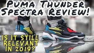 3acddba4608 PUMA THUNDER SPECTRA REVIEW! Still Relevant In 2019