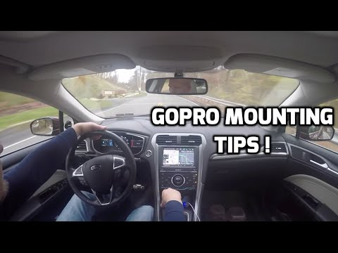 12 GoPro Hero Mounting Ideas (Angles) For Your Car - Simple Tutorial