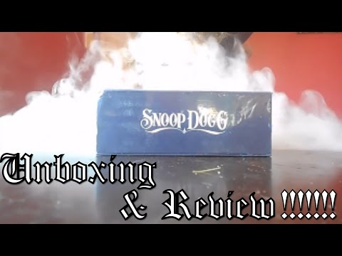 Snoop Dogg G-Pen Unboxing and Review!!!!!