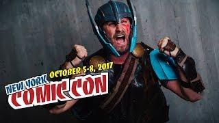 My New York Comic Con 2017 Recap! NYCC - Thor Ragnarok Cosplay