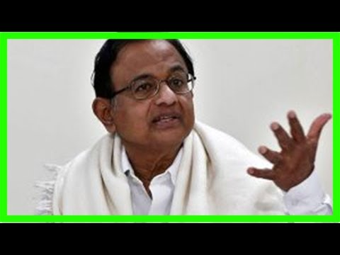 Chidambaram mocks modi govt's sudden love for moody's